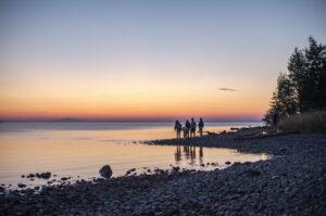 Solnedgång over Storsjön