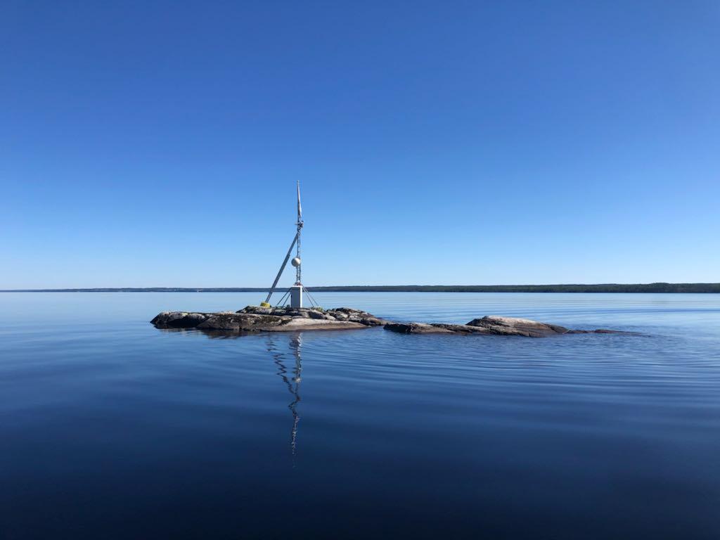 Ön Nysvehällan i Storsjön i Jämtland